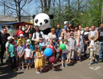"On May 2, 2012 bikers of Volhynia with WINDS MC support, visited orphanage ""Sun""."